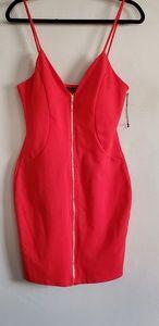 Haute Monde red mini dress